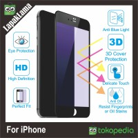 Tempered Glass Blue Ray Light iPhone 5 5s 6 6s 6g 6Plus 7 7Plus Warna