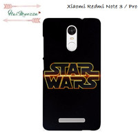 harga Custom Case Xiaomi Redmi Note 3 / Pro Motif Star Wars Logo Tokopedia.com