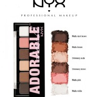 NYX - ADORABLE Shadow Palette