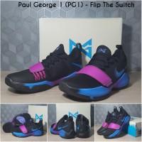 Sepatu Basket Nike PG 1 (Paul George 1) - Flip The Switch Black Purple