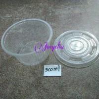 Jual Mangkok kurma/ jelly/ puding/ salad 500ml Murah