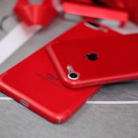 RED CASE iPhone 5 5s SE 6 6s 6+ 6s+ 7 7+ PREMIUM LOOK FULL COVER