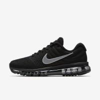 Sepatu Casual Nike Air Max 2017 Black Hitam Original Asli Murah