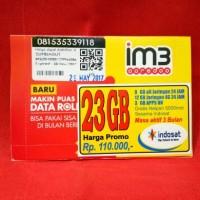 PAKET INTERNET INDOSAT 23GB + GRATIS NELPON 5000MNT SESAMA INDOSAT