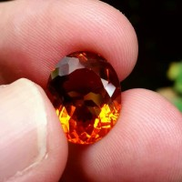 100% NATURAL PREMIUM 6.51crt MADEIRA CITRINE NO TREATMENT