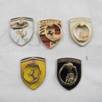 Iring motif Ferrari, Lamborghini, Porsche plat besi