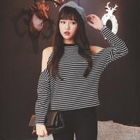kemeja hem wanita pakaian kerja fashion hang out murah design korea