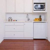 Kitchen Set Putih Minimalis Untuk Dapur Atau Rumah Kecil/Sempit