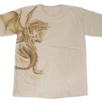 Jual Kaos Lukis Rising Dragon (KDC-POM001) Murah