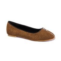 Sepatu Flats Wanita Shoeholic Elena, Brown