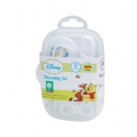 DISNEY WINNIE THE POOH GROOMING SET WITH CASE - WHITE