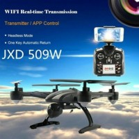 Mainan Drone Tipe QUADCOPTER PIONER JXD 509W WIFI FPV WITH 2 MP CAMERA