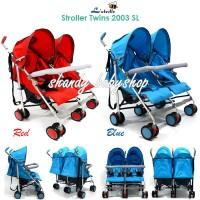 harga Stroller L'abeille Twin (2003 Sl)/ Stroller Kembar Tokopedia.com
