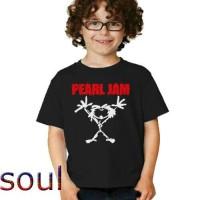 Jual T - shirt kids / kaos anak pearl jam Murah