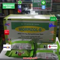 Wormzole Bolus (Obat Cacing Berspektrum Luas Untuk Ternak)