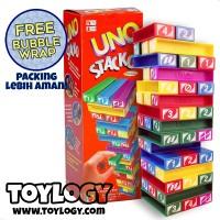 Mainan Edukatif/Edukasi Anak Balok Susun - Uno Stacko Tumbling Tower