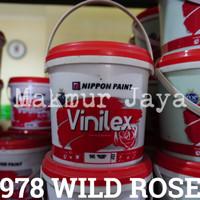 harga Vinilex 978 Wild Rose Tinting 1.4kg Cat Tembok Interior Eksterior Tokopedia.com