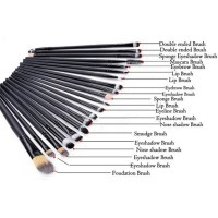 BLKWT Produk Kecantikan Make Up Brush 20 Set