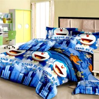 GROSIR BED COVER SET FATA ANAK NEW DORAEMON UK.180&160