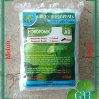 Jual Nutrisi Hidroponik Pupuk AB Mix GH, Melon, 250gr, 500ml Murah