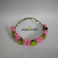 Jual Flower crown / mahkota bunga FC16-2 Murah