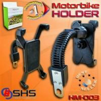 Jual Braket Dudukan Hp GPS Spion Motor, Promo Harga Distributor Murah Murah