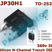 SMD RJP30H1 360v 30A Silicon N-Channel PDP Trench IGBT RJP 30H1 TO-252