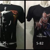 harga Kaos 3d Keren Superhero Allsize M Tokopedia.com
