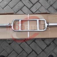 Jual Stick Tricep Diameter Lubang 5cm   Triceps Chrome Bar Dumbell Barbel Murah