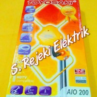 Jual Antena / Antenna TV Outdoor & Indoor TOYOSAKI AIO 200 Murah
