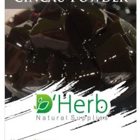 DHerb Tepung Grass Jelly - Cincau Hitam Powder - 100Gram