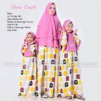 Harga grosir murah baju muslim pasangan doors couple ibu dan | Pembandingharga.com