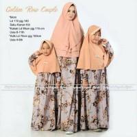 Harga grosir murah baju muslim pasangan golden rose couple ibu dan | Pembandingharga.com