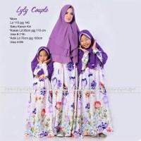 Harga grosir murah baju muslim pasangan lyly couple ibu dan | Pembandingharga.com