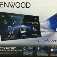 Kenwood DDX-7017BT Head Unit Double Din Tape Audio Mobil DDX 7017 BT