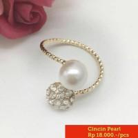 Cincin unik keren cantik chanel love murah