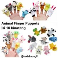 Jual Boneka Jari Binatang (Animal Finger Puppet) Murah
