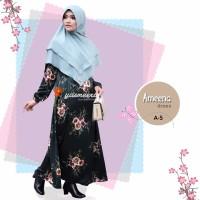 Gamis Yasmeera Ameena Dress A5 - baju muslim wanita baju muslimah
