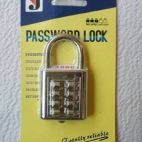 Gembok Nomor Password Pin 8 Angka