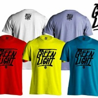 kaos/t shirt keren GREEN LIGHT 02