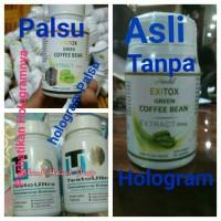Jual Hendel EXITOX Green Coffee - Obat Pelangsing Herbal Murah