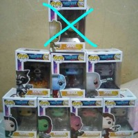 Jual funko pop the guardian of galaxy set bnib murah Murah