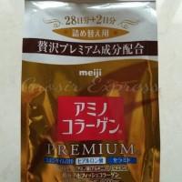 **Best Seller** Meiji Amino Collagen Premium Refill Original Japan