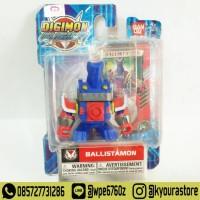 Mini Action Figure Digimon Fusion - Ballistamon