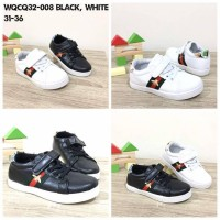 Jual Sepatu GucciBee lis White and black Murah
