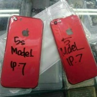 Housing Casing Kesing Iphone 5s model iphone 7 Red spesial edition ORI