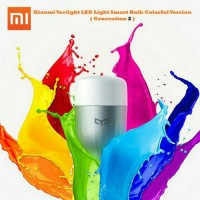 Jual Xiaomi Yeelight LED Light Smart Bulb Colorful Version (Generation 2) Murah