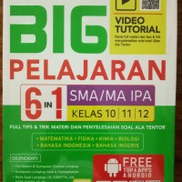 Big Pelajaran SMA/MA IPA 6 IN 1 KELAS 10|11|12