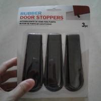 Jual Rubber door stoppers, penahan pintu aneka warna 3pc (door stop ) Murah