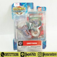 Mini Action Figure Digimon Fusion - Greymon